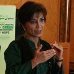 منصوره شجاعی در دومین نشست سفیران سبز امید