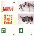 تبریک عید غدیر امسال با اهدای کارت پستال های آثار میرحسین موسوی و زهرا رهنورد